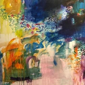 "Untiled 57/Acrylic on Canvas/36""x48"""