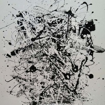 "Untiled 47/Acrylic on Canvas/24""X30"""