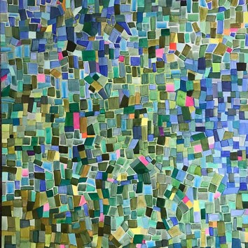 "Untiled 5/Acrylic on Canvas/48""X60"""