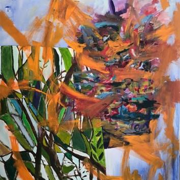"Untiled 14/Acrylic on Canvas/48""X60"""