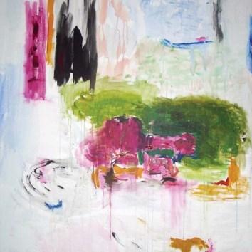 "Untiled 34/Acrylic on Canvas/48""X60"""